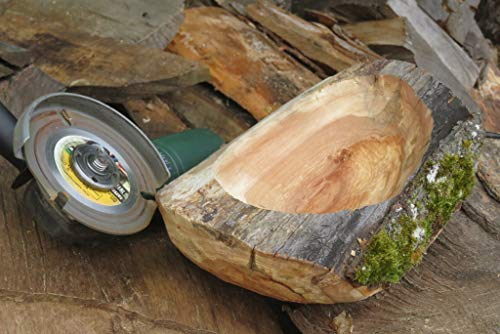 Carving Wood with an Angle Grinder