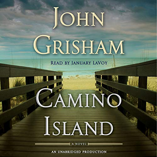 Camino Island     A Novel              Written by:                                                                                                                                 John Grisham                               Narrated by:                                                                                                                                 January LaVoy                      Length: 8 hrs and 45 mins     61 ratings     Overall 3.9