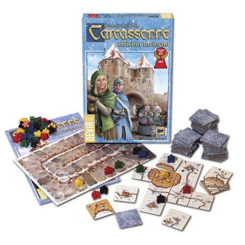 Devir - Carcassonne edición Invierno, Juego de Mesa (BGCARI)