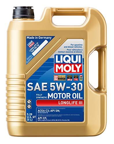 Liqui Moly 20222 Longlife III SAE 5W-30, 5 Liter
