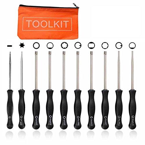 FanzKo Carburetor Adjustment Screwdriver Tool- Husqvarna Homelite Craftsman Adjusting Tools-10PCS