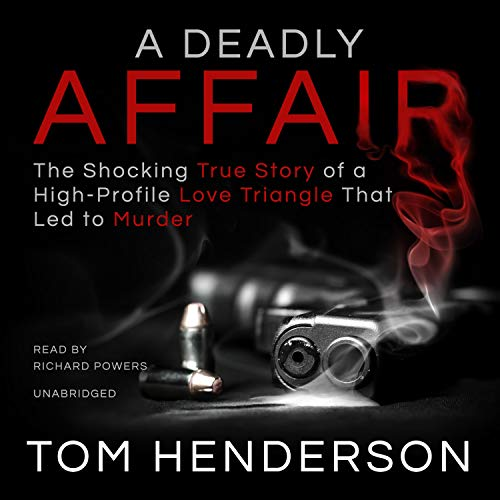 A Deadly Affair audiobook cover art