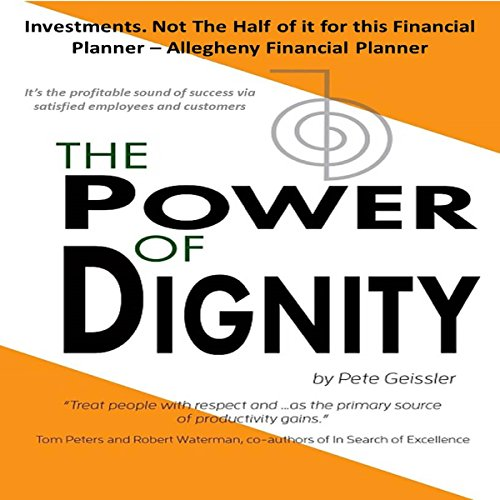 The Power of Dignity audiobook cover art