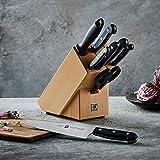 ZWILLING Messerblock, 9-tlg., Holzblock, Messer und Schere aus rostfreiem Spezialstahl/Kunststoff-Griff, Twin Gourmet - 3