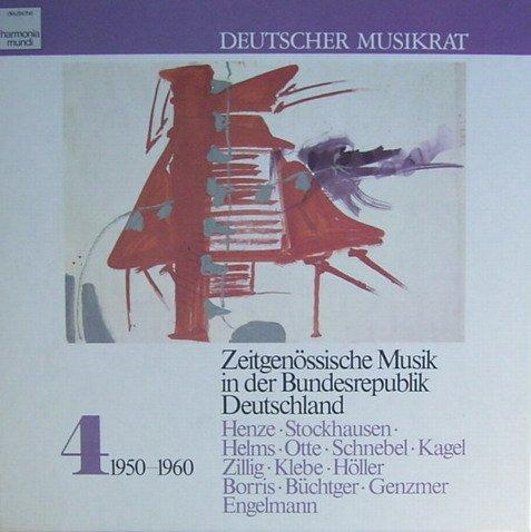 Deutscher Musikrat - Zeitgenössische Musik in der Bundesrepublik Deutschland, Vol. 4: 1950-1960 (Dokumentation) [Vinyl Schallplatte] [3 LP Box-Set]