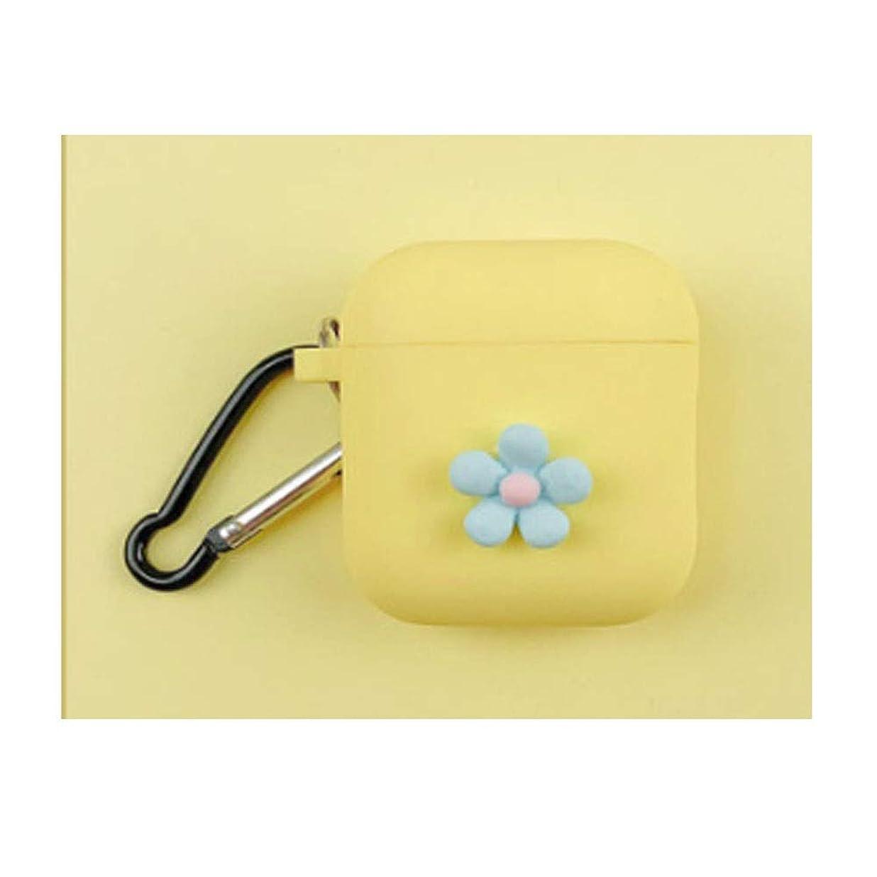 酒攻撃的ゲストJielongtongxun ヘッドホンセット - シンプルで素朴なデザインスタイル、ワイヤレスイヤホンセット、防滴性と耐久性、美しい贈り物(青、ピンク、紫、白、黄色) シンプルで美しい (Color : Yellow)