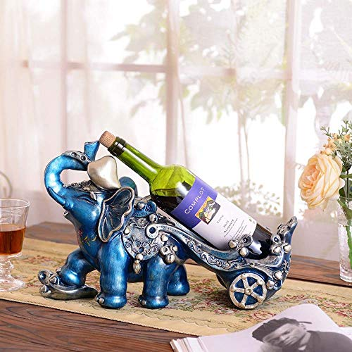 Tesysyet KTV Bar Adornos Mueble Bar TV Housewarming Ornamentos del Regalo Creativo Botellero Botellero 40 * 17 * 26cm