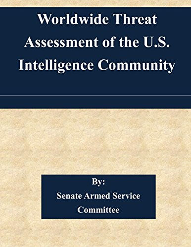 Worldwide Threat Assessment of the U.S. Intelligence Community