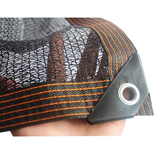 Shade net 40%-50%, 3-pin Anti-UV Sunblock Sun Mesh, Greenhouse Garden Shade Cloth, Thickened Edges Metal Grommet