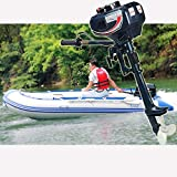 Best Inflatable Boats - None/Brand 2 Stroke Outboard Motor Engine 3.5HP Water Review