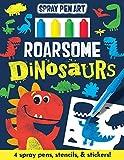 Roarsome Dinosaurs (Spray Pen Art)