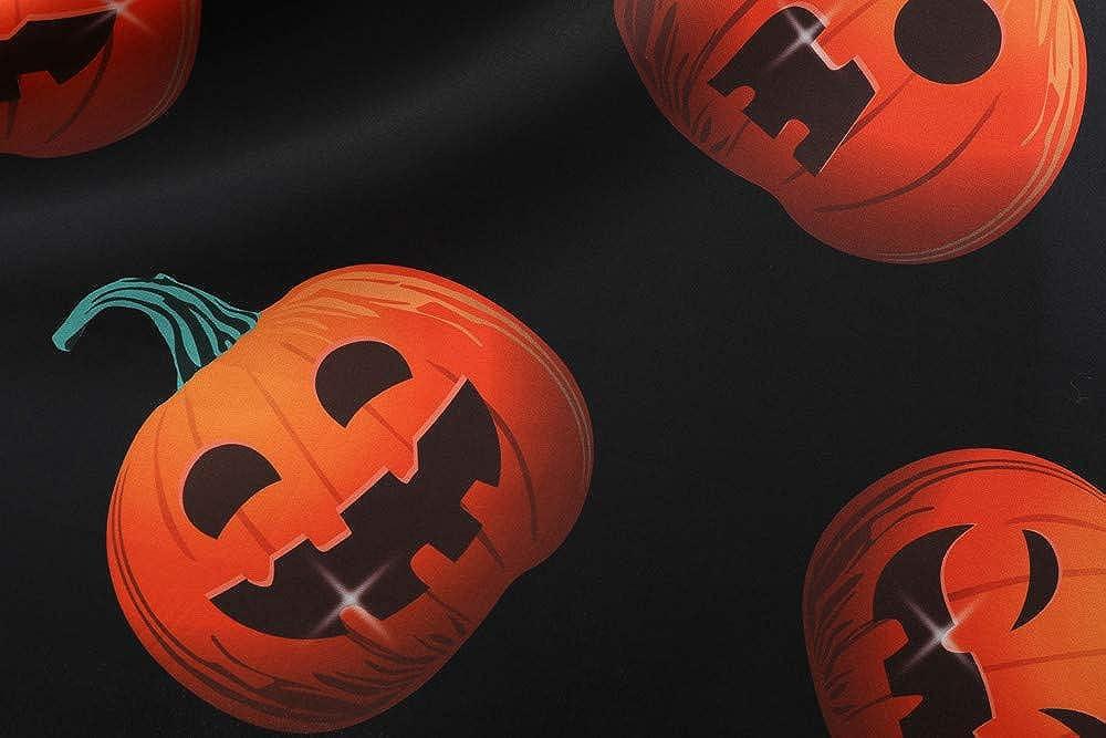 ZEELIY Kleider Damen Langarm Vintage Retro Cocktailkleid Rockabilly Weihnachten Halloween Karneval Drucken Abend Prom Kostüm A-Linie Rundhals Kleid Weihnachtenkleid Z2-stil