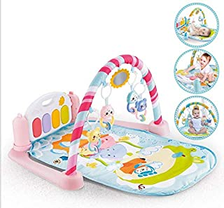 Baby gym rack, pedal piano, newborn remote control music toy