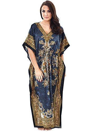 Nightingale-Collection-Damen-Kleid Gr. One Size, grau