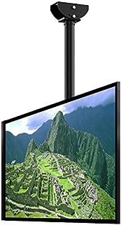 Loctek CM2 Ceiling TV Wall Mount Full Motion Adjustable Tilting Bracket Fits Most 32-65 Inch LCD LED Plasma Monitor Flat Panel Screen Display