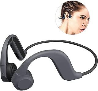 FOONEE Bone Conduction Headphones, X9 Non Ear Plug Open Ear Wireless Earphones, APTX Support, Low Latency, Sweatproof Sports Open Ear Wireless Headset with Mic Has 8G Memory, for Running Driving
