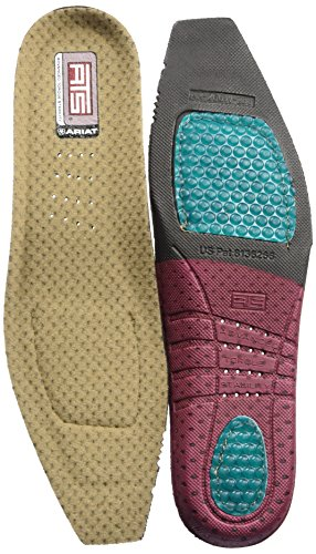 Ariat Women's ATS Square Toe Footbeds, multi, 8.5