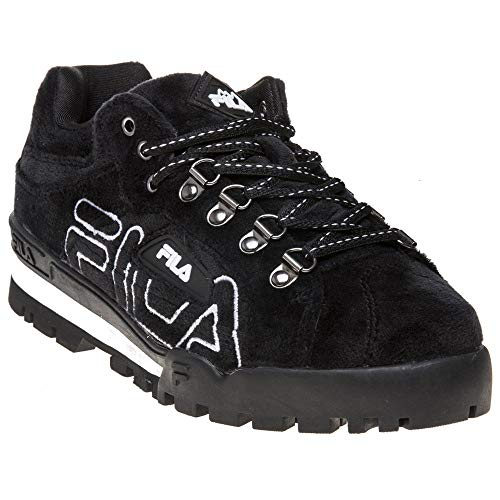 FILA Damen Trailblazer Premium Velour Stiefel Schwarz 38 EU
