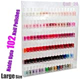 Home-it Nail Polish Rack Nail Polish Organizer Holds up to 102 Bottles...