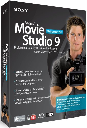 Sony Vegas Movie Studio 9 Pro Pack