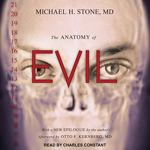 The Anatomy of Evil audiobook cover art