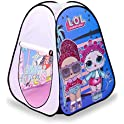 L.O.L. Surprise! Indoor/Outdoor Pop-Up Play Tent with Fold-Up Door