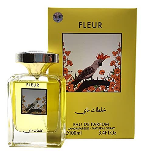 Perfumes - Eau de Parfum Floral de 100 ml de My Perfumes para hombres y mujeres, perfume fresco y floral, efecto de larga duración, con vaporizador natural