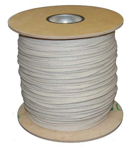 T.W Evans Cordage 46-107 Number-10 5/16-Inch Buffalo Cotton Sash Cord 1200-Feet Spool