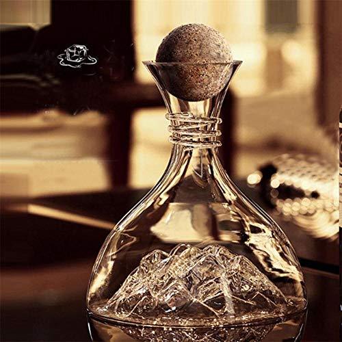 DIF Loodvrij Kristal Glas Wijn Decanter Rode Wijn Dispenser Grote Capaciteit Drank Whiskey Fles
