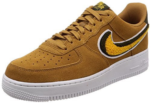 Nike Air Force 1 '07 Lv8, Chaussures de Gymnastique Homme, Marron (Muted Bronze/Yellow Ochre/Sequ 204), 39 EU