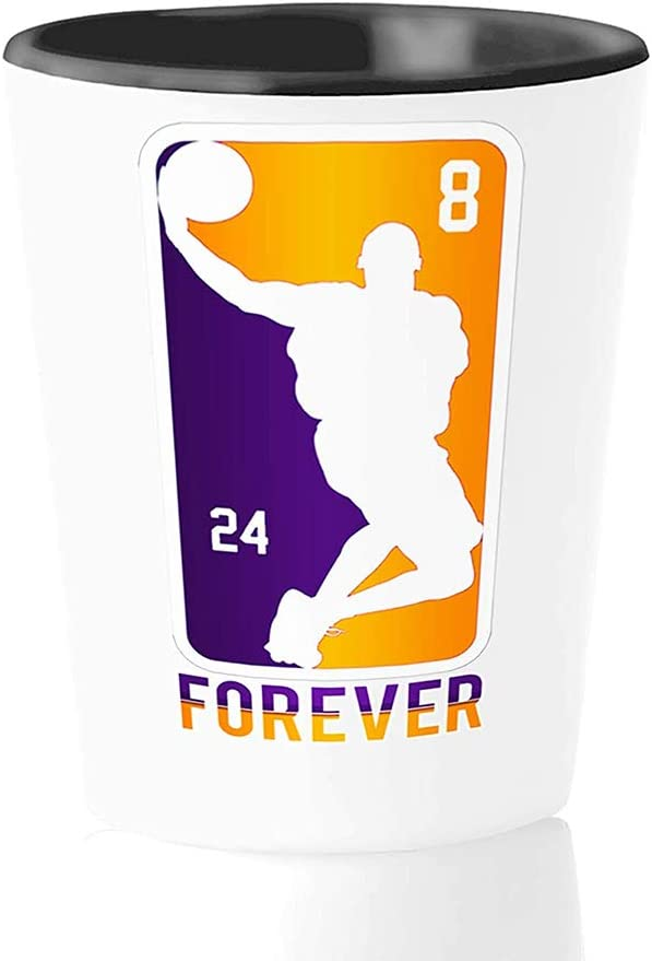 Athlete Choice Shot Glass - Forever 24 Angel 8 Excellent Basketball Los 3 Bry-Ant