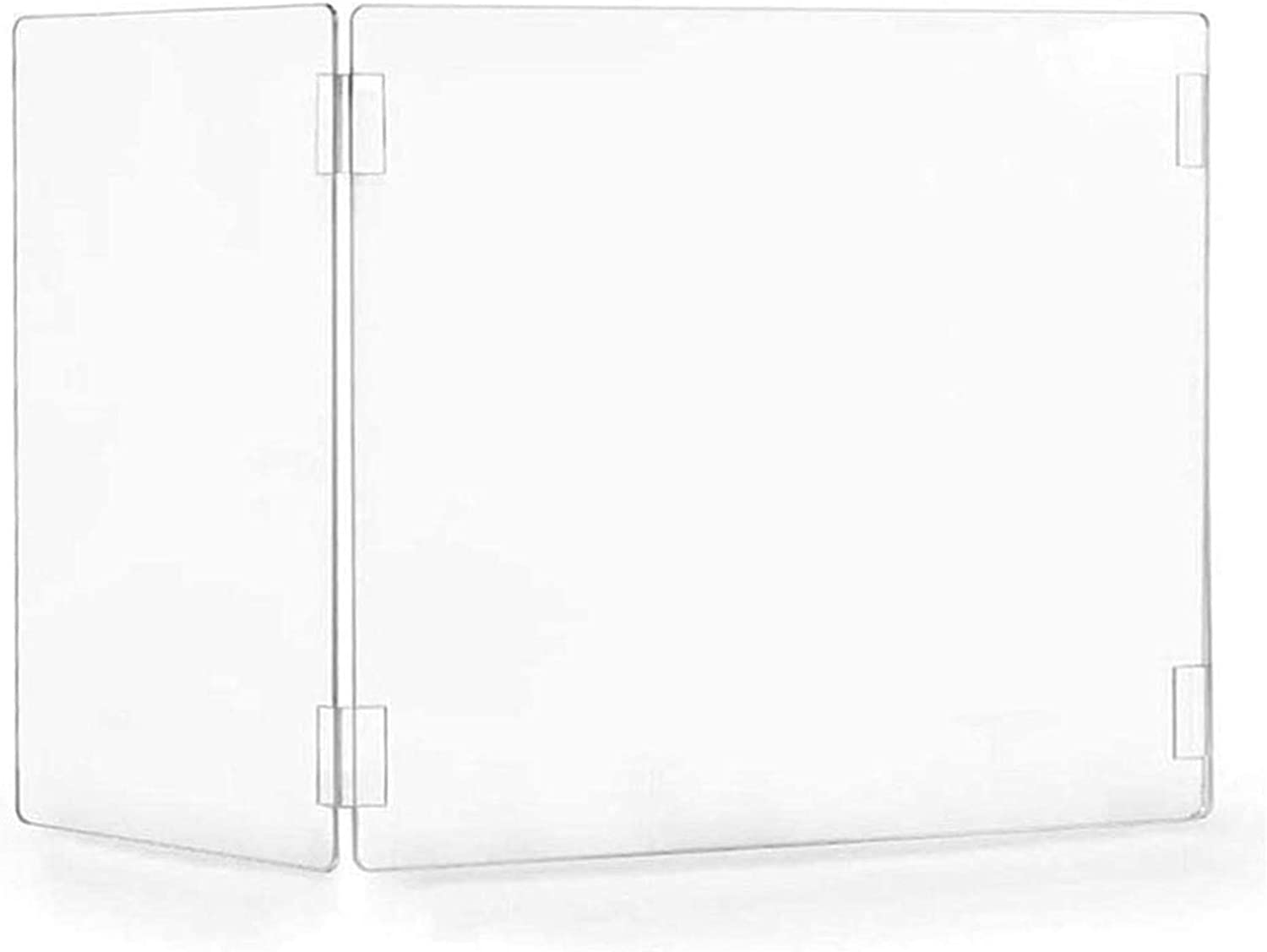 Double Virginia Beach Recommended Mall east Folding Sneeze Guard for Acr Thick 4mm Desk Students