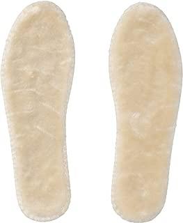 Joules Unisex Adult Faux Fur Comfort Insoles, (Natural) (8 UK/US 10)