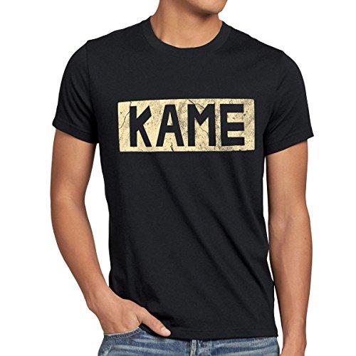 style3 Kame Goku T-Shirt Homme, Taille:M;Couleur:Noir