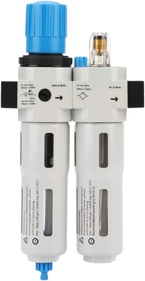 Limited time trial price LANTRO JS - mart FRC-MINI-1 4 Dual Ai Filter Compressed Regulator Air
