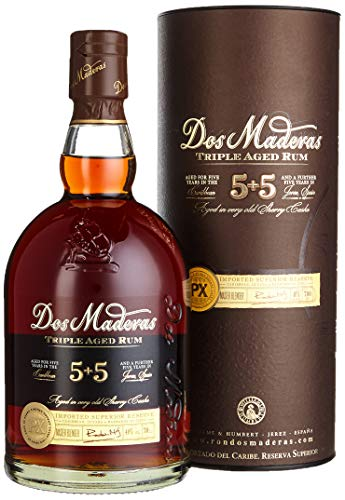 Dos Maderas PX 5+5 Rum (1 x 0.7 l)