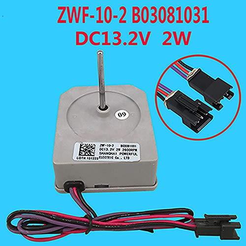 SHEAWA ZWF-10-2 B03081031 DC Motor de ventilador para Hisense Ronshen ventilador de refrigerador