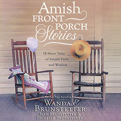 Amish Front Porch Stories audiobook cover art
