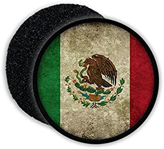 Estados Unidos Mexicanos Spanish Mexico City Federal Republic Flag badge Coat of arms - Patch/Patches