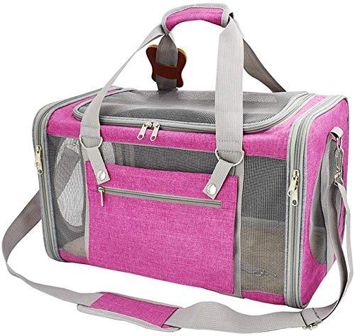 YLCJ Huisdier tas Reistas Ademend reizen Ademend voor huisdieren Draagbare reistas (Kleur: roze)
