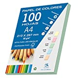 Dohe 30192 - Pack de 100 papeles A4, 80 g., color verde pastel