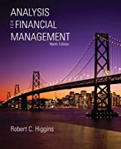 Analysis for Financial Management (text only) 9th (Ninth) edition by R. Higgins