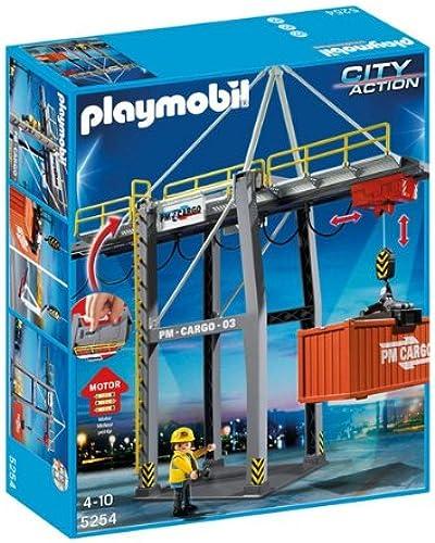 PLAYMOBIL 5254 - Portique électrique à conteneurs