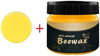 Dolloress Wood Seasoning Beewax Traditional Beeswax Polish for Wood & Furniture All-Purpose Beewax for Wood Cleaner and Po...