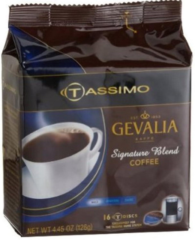 Tassimo Gevalia Pro Signature Blend Coffee T-Discs (80 Count, 5 Bags of 16)