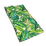 WAZHIJIA Tropical Plants Palm Leaves Beach Bath Pool...