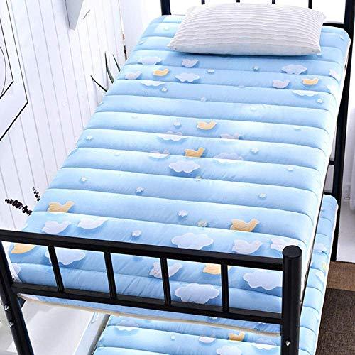 L.BAN Foldable Mattress,Tatami Mattress,Student Dormitory Folding Mattress,Foldable Mattress,Thick Soft Multi-Function Cushion Bedroom Camping@B_180*200cm