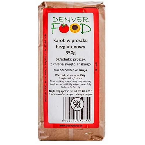 Poudre de caroube sans gluten 350g Denver Food