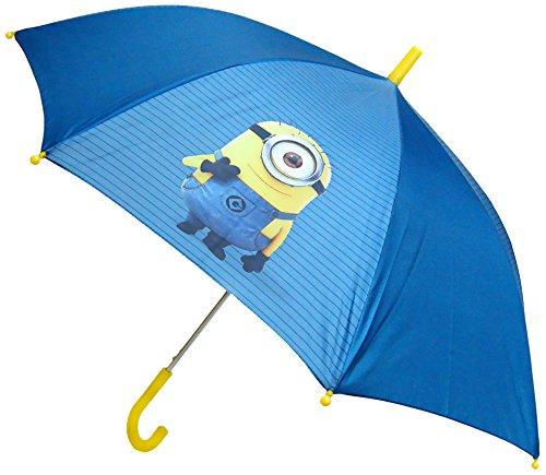 Minions 0811795 Regenschirm, Durchmesser : 80 cm, Blau