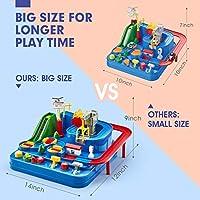 CubicFun Pista Macchinine Giochi Bambini 3 4 5 Anni Set di Giocattoli per Pista da Corsa, Elicottero e 3 Auto Giocattoli Educativo per Bambini Regalo #5